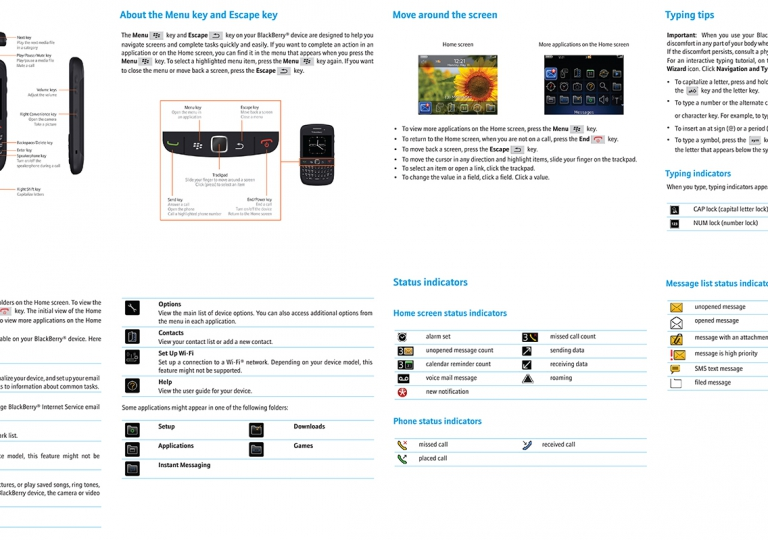 Blackberry Manual