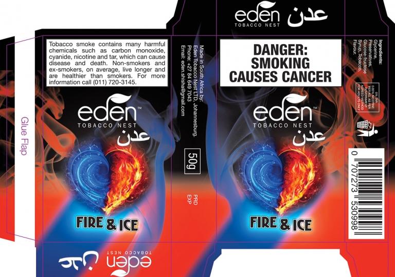 Eden Tobacco Box With Die Trace