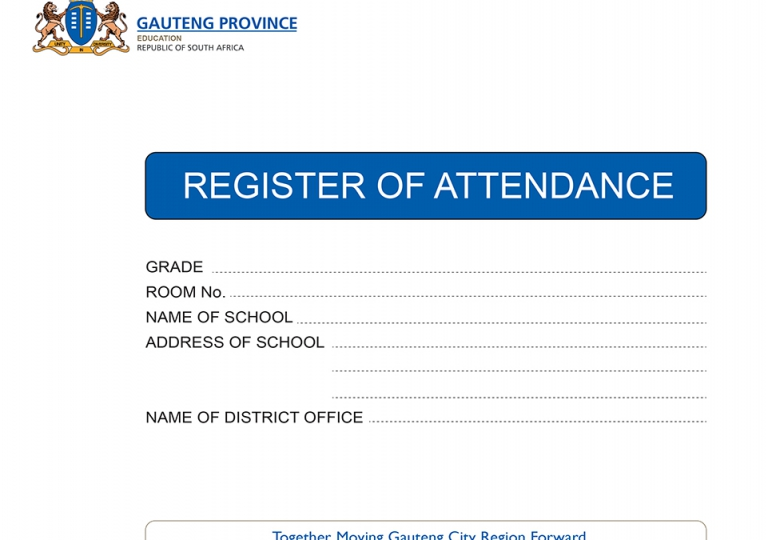 Gauteng Attendance Register Cov