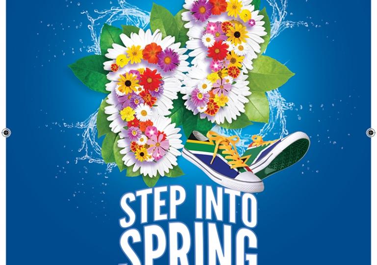 JAC Spring walk A5 Leaflet