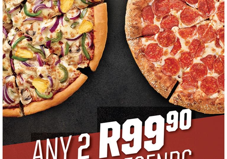 Pizza Hut A0 Poster LFP